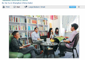 China Daily: Bright lights, big city, small businesses, happy owners
