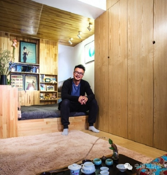 Ying Zhaojun: It is always worth designing your own small apartment.